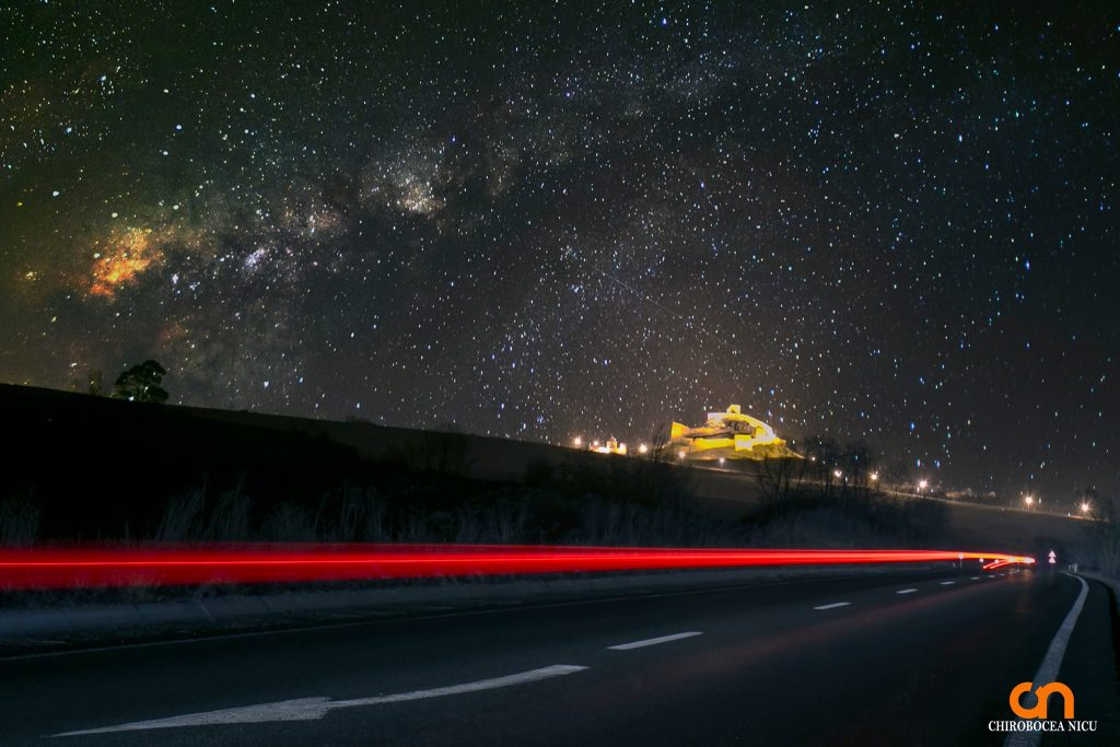 chirobocea nicu travel photographer night stars milky way fotograf profesionist evenimente corporate commercial travel peisaje cars road castle architecture